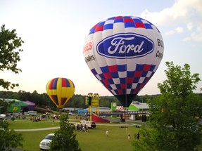 Hot Air Balloon Advertisng Events Flights