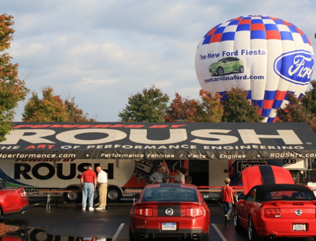 Ford Hot Air Balloon at Roush Fenway Racing Fan Day 2010