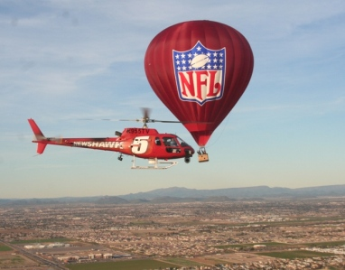 NFL Hot Air Balloon